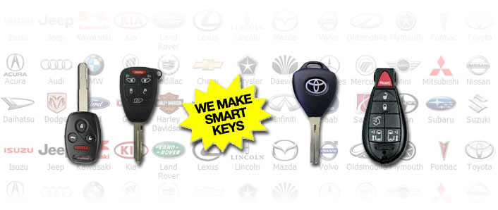 Car key duplication. Smart keys
